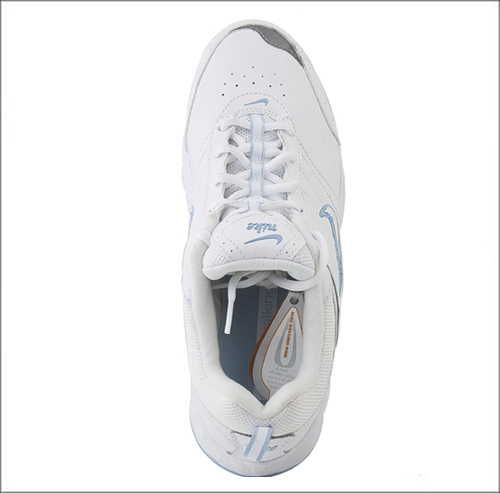 NIKE Womens VIEW II LEATHER White/Ice Blue 318171 111 WALKING SHOES
