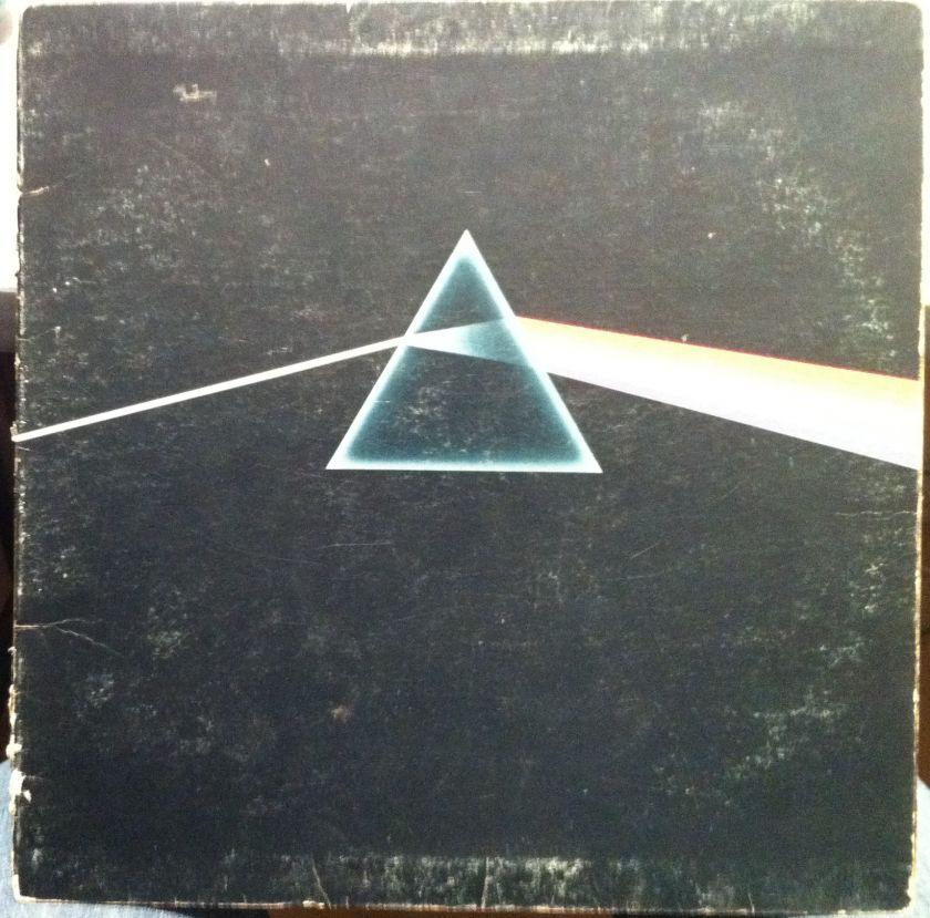 VG  PINK FLOYD dark side of the moon LP SMAS 11163 Vinyl Record 1973