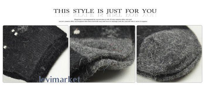 2011 Christmas Snowflake Socks Winter Warm Womens Wool Socks Angora