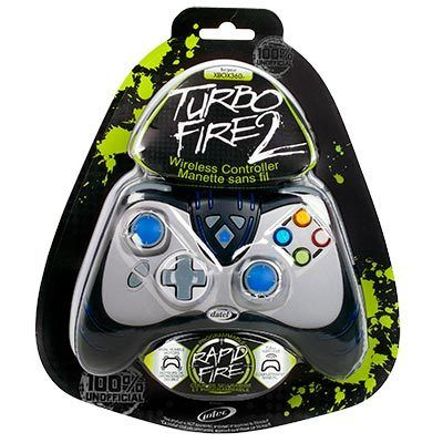 Turbo Fire 2 Wireless Xbox 360 Controller w/ Rapid Fire