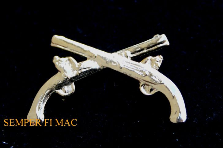 MILITARY POLICE MP HAT PIN US ARMY CROSS PISTOLS