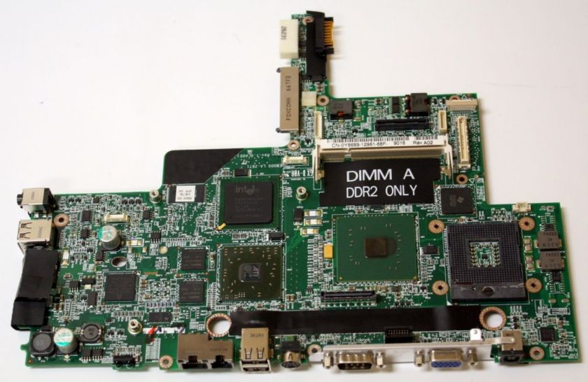 New OEM Dell Latitude D810 Intel Laptop Motherboard ATI Radeon