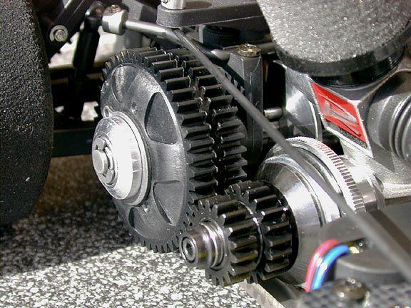 Proceed Indy Race car  nitro all wheel drive belt driven RC car