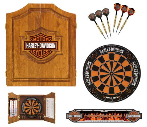 HARLEY DAVIDSON BAR & SHIELD DARTS KIT 61995