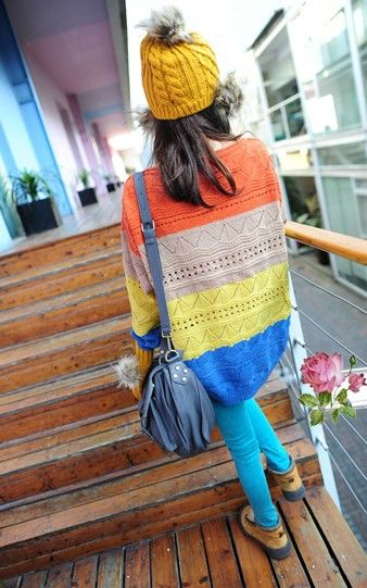 2012 spring Korean Lovely smiling face Print hooded long sweatshirt