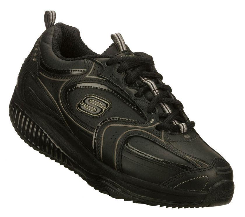 SKECHERS Shoes 12322 Black Women Walk Shape Ups Fitness